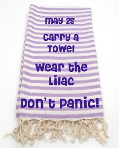 Lilac Towel Day